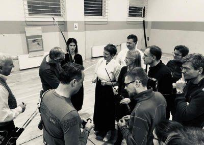 """Atviros treniruotės """"Lankas visiems ir kiekvienam"""" 2018 lapkritis"""