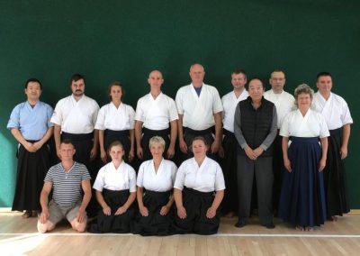 Kyudo seminaras, dojo atidarymas ir Taikai Rygoje 2018 rugpjūtis