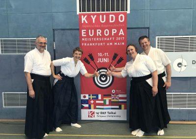 XIV Europos Kyudo čempionatas Frankfurte 2017 birželis