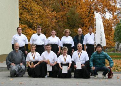 Seminaras ir II Lietuvos Kyudo čempionatas Vilniuje 2013 spalis