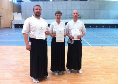 IKYF seminaras ir egzaminas Magglingene 2015 liepa