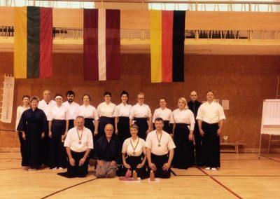 Seminaras ir V Lietuvos Kyudo čempionatas Vilniuje 2016 lapkritis