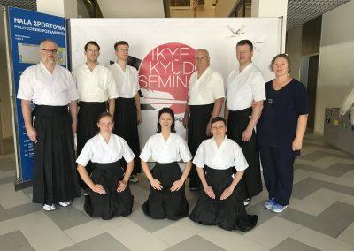 IKYF seminaras ir egzaminas Poznanėje 2019 liepa